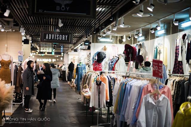 Khám phá thiên đường mua sắm tại Hàn Quốc