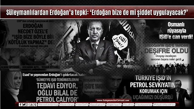 Recep Tayyip Erdoğan, IŞİD, terör örgütleri, içimizdeki israil, reina saldırısı, stad saldırısı, akp'nin gerçek yüzü, süleymancılar, cemaat, hollanda, milli görüş, referandum,