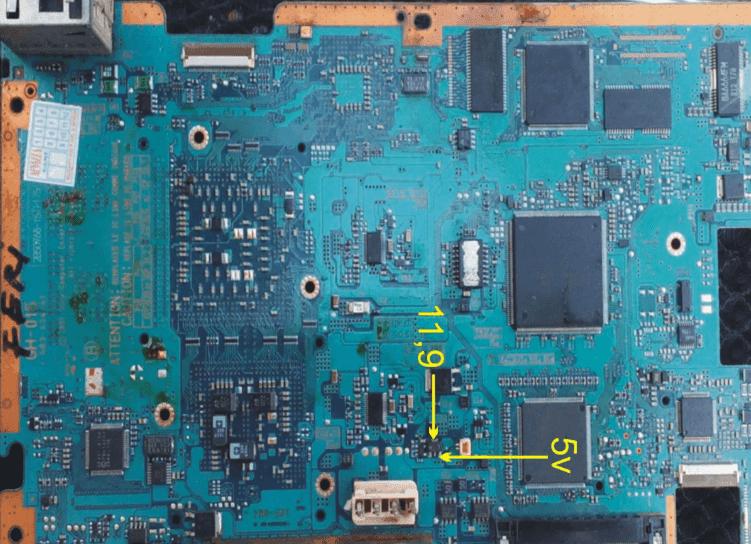 Test Point Kipas PS2 Mati Seri 30XXR
