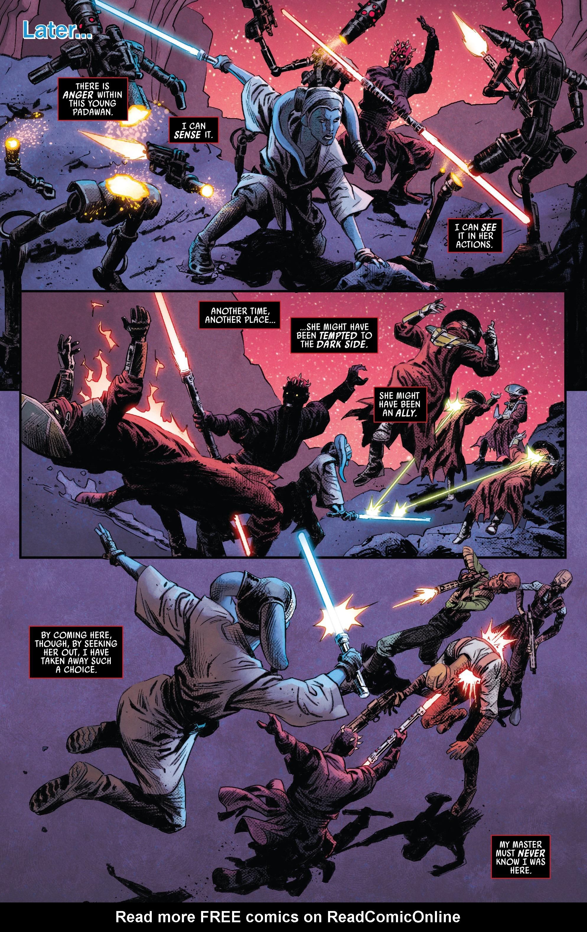 Read online Darth Maul comic -  Issue #4 - 19