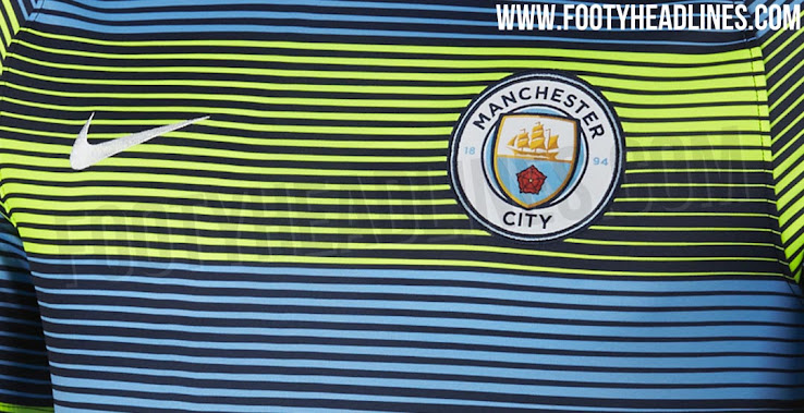 5e2d09977bf Insane Manchester City 18-19 Pre-Match Jersey Released - Leaked ...