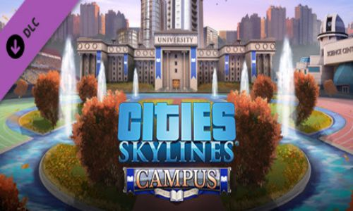 Download Cities Skylines Campus Free For PC