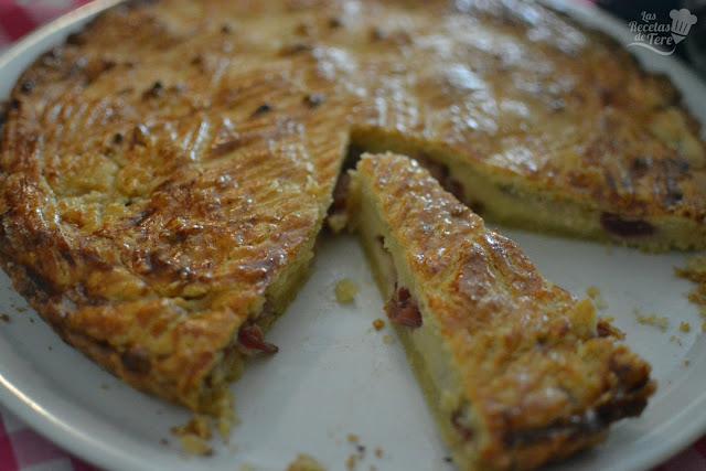 pastel vasco gateau basque con cerezas 04