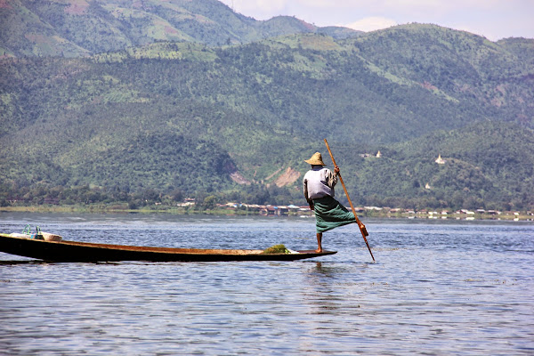 Fisherman - Inle lake - Myanmar