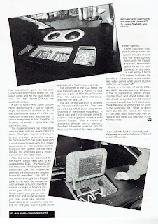 Black and white image of page 62 of Autosound & Security Magazine's March 1995 issue.
