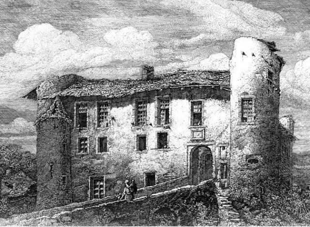 LOUVIGNY (57) - Le château-fort