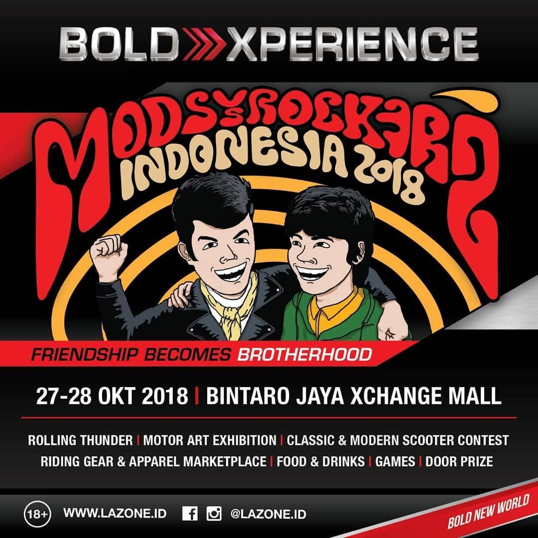 Mods vs Rockers Indonesia 2018 2