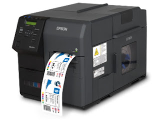 from an extremely arrive at in addition to fast color label printing device into a  Epson ColorWorks C7500GE Drivers Download