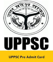 UPPSC Pre Admit Card
