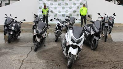 En Quibdò la Policìa Recupera motocicletas hurtadas en Medellìn
