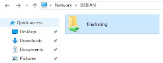 folder berbagi file samba server