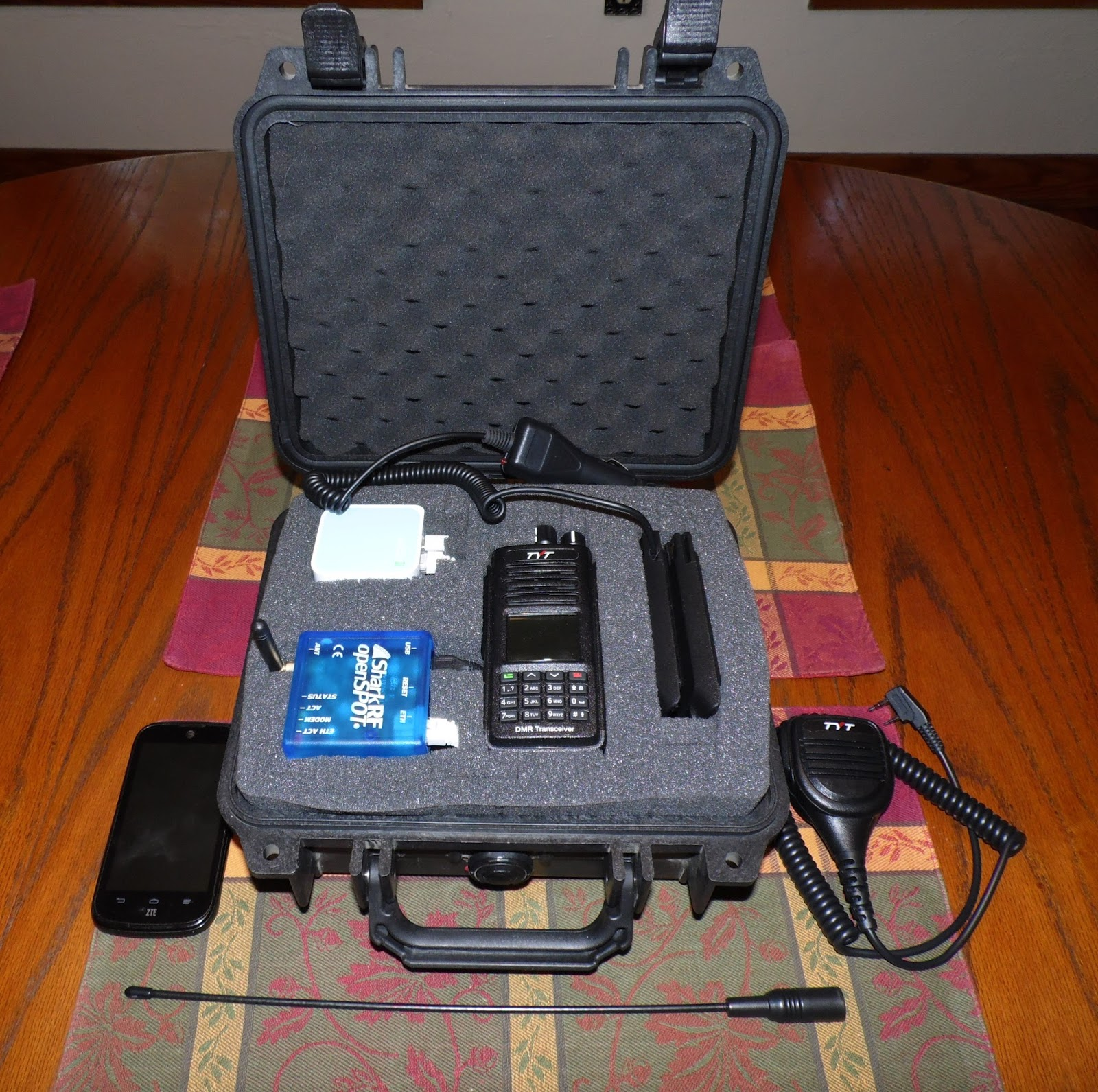 The W9FE Ham Radio Corner: Take Your TYT MD-390 Portable