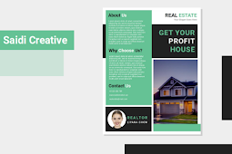 Realtor Business Flyer Template Free Download on MS. Word File