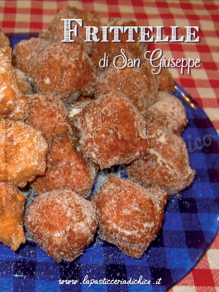 Frittelle di San Giuseppe - la pasticceria di chico