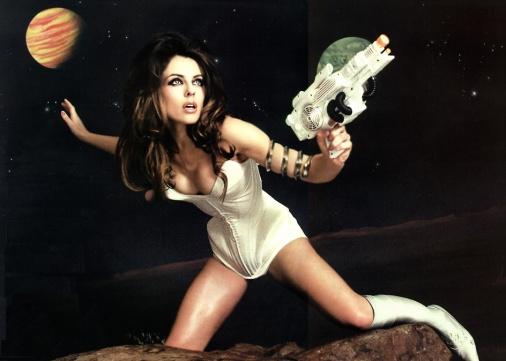 Liz Hurley as Barbarella