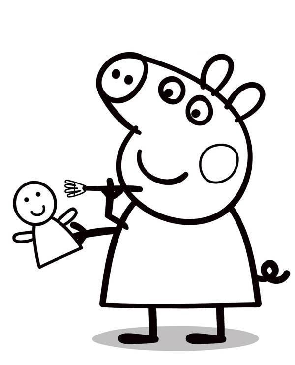 Portalisimocom Dibujos de Peppa Pig para colorear y pintar