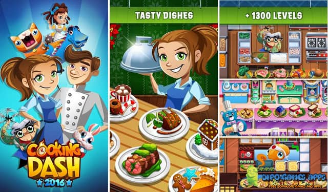 Cooking Dash 2016 Apk Latest Version