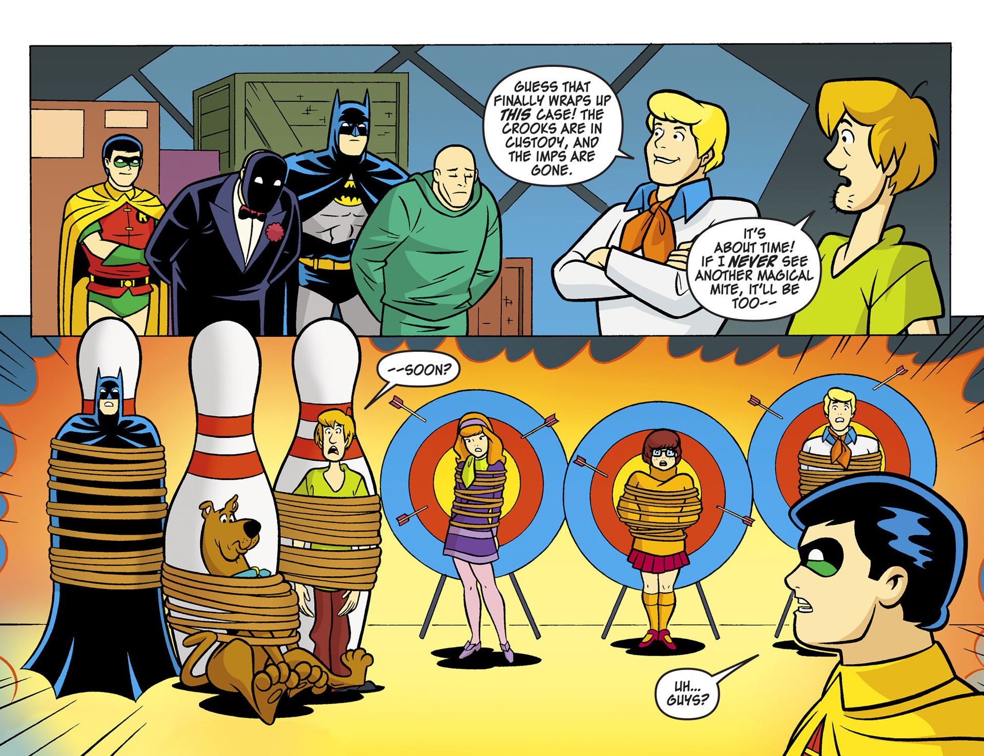 Read online Scooby-Doo! Team-Up comic -  Issue #6 - 21