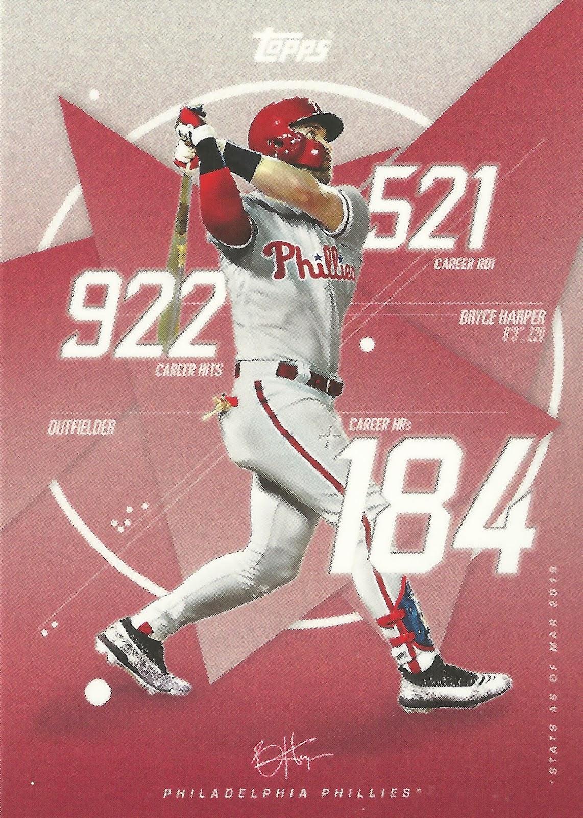 The Phillies Room Game 3 2019 Topps Bryce Harper Art Card B