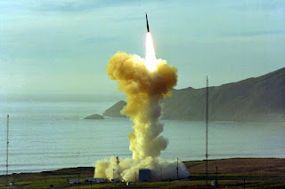 unarmed Minuteman 3 missile