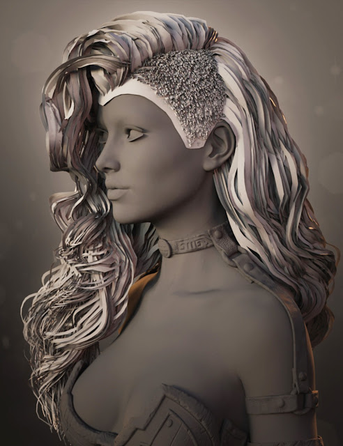 Adalyn Hair for Genesis 3 Female
