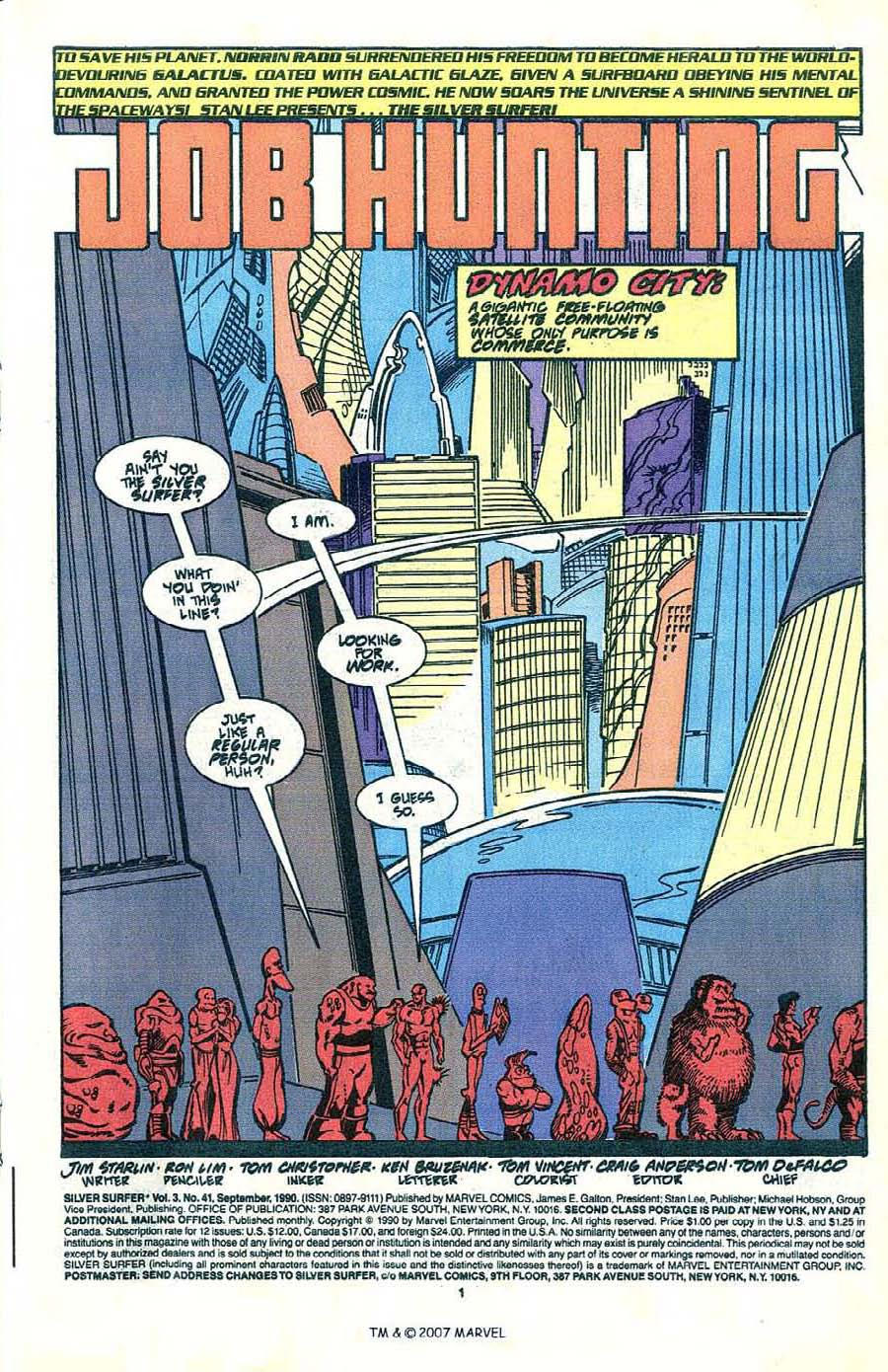 Read online Silver Surfer (1987) comic -  Issue #41 - 3