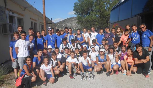 Με 17 μετάλλια επέστρεψε ο Ναυταθλητικός Όμιλος Ηγουμενίτσας από τους διασυλλογικούς αγώνες στη Καστοριά