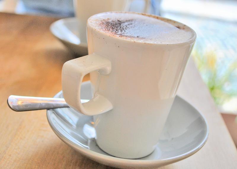 kawa w Dublinie