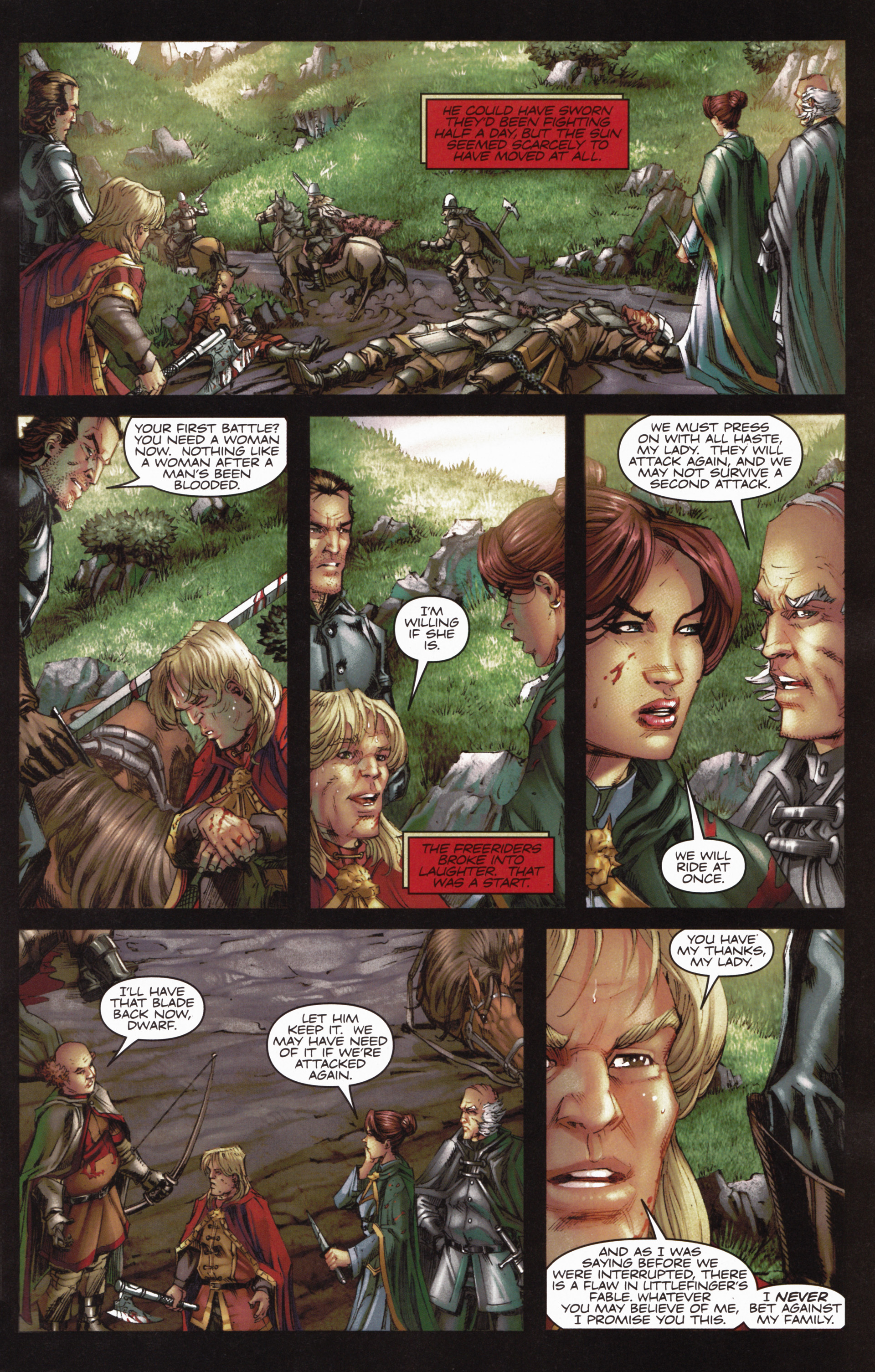 Read online A Game Of Thrones comic -  Issue #10 - 13