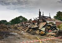 Feuer in Hadenfeld Kreis Steinburg Juni 2017