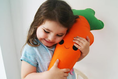 Carrot Cushion