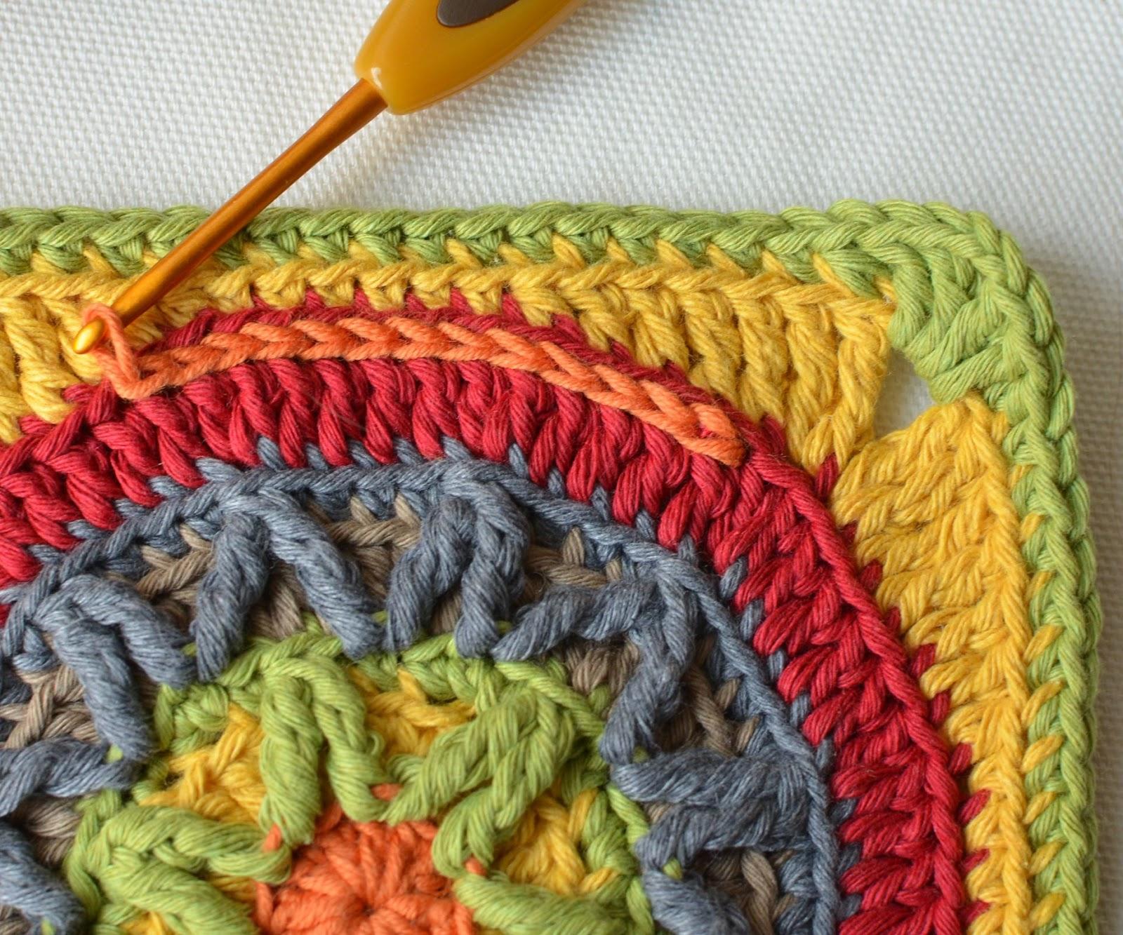 Circles of the Sun - CAL - Block 3 | LillaBjörn\'s Crochet World