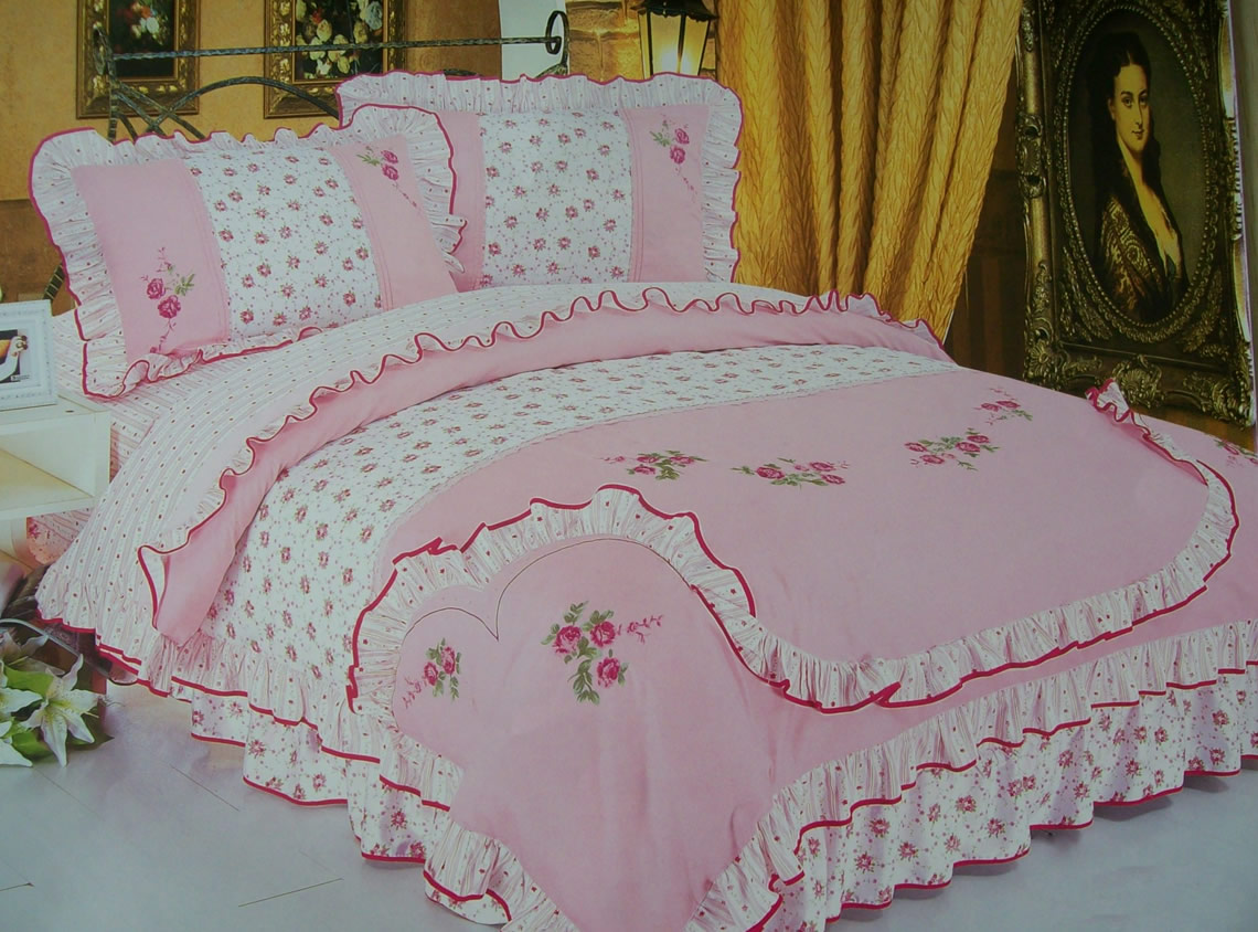 The gallery for --> Embroidery Designs For Bed Covers