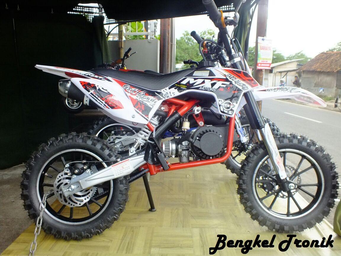 Harga Motor Mini Dan Sprefart Model Trail Dan GP Cocok Untuk Anak