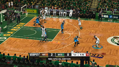 NBA 2K13 TD Garden Celtics Playoffs Court Update