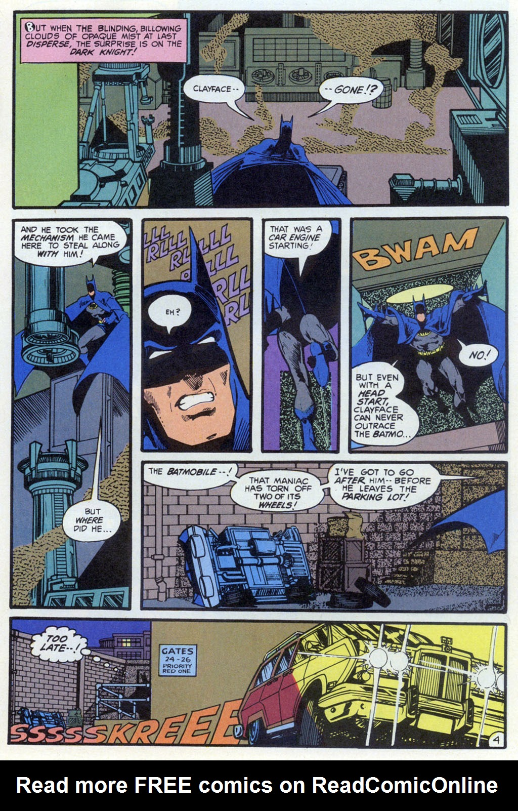 Read online Shadow of the Batman comic -  Issue #5 - 24