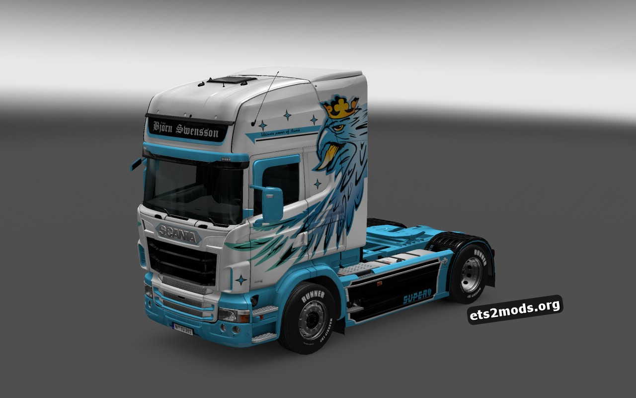 Bjorn Swensson Skin for Scania RJL
