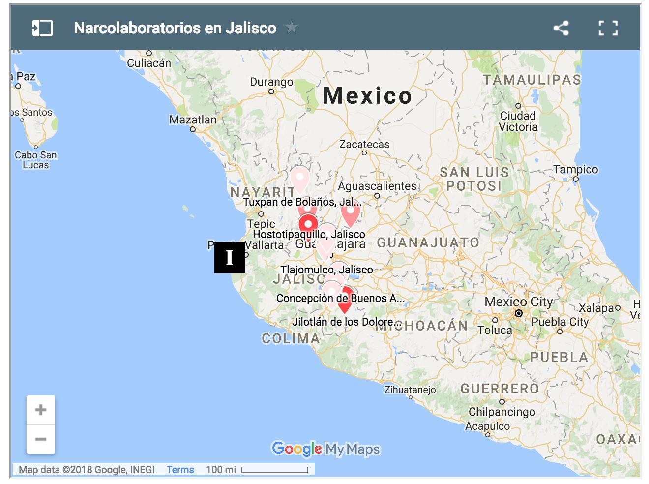 Borderland Beat: Jalisco: The Plague of Narco-Laboratories