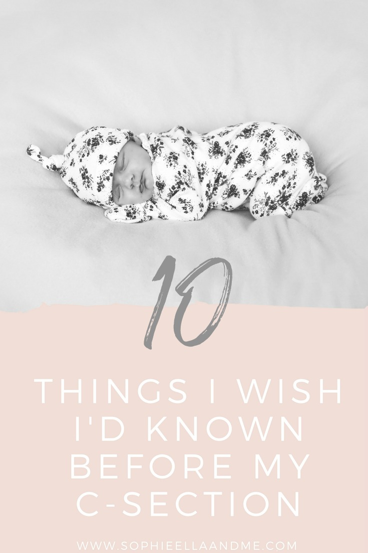 10 Things I Wish I'd Known Before My C-Section
