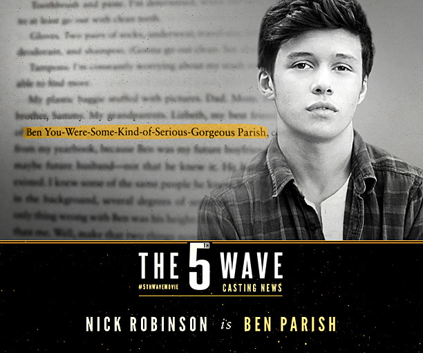 Delicious Reads: The 5th Wave {Book to Movie}