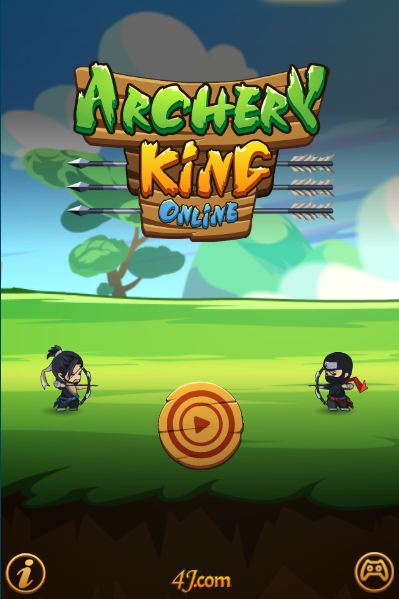 Become A True Ninja With A Bow Archery King Online Kizi 2 Player