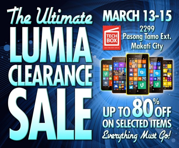 The Ultimate Lumia Clearance Sale