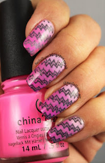 China Glaze Something Sweet, Don't Mesa With My Heart and Glow With The Flow and Fairy Dust