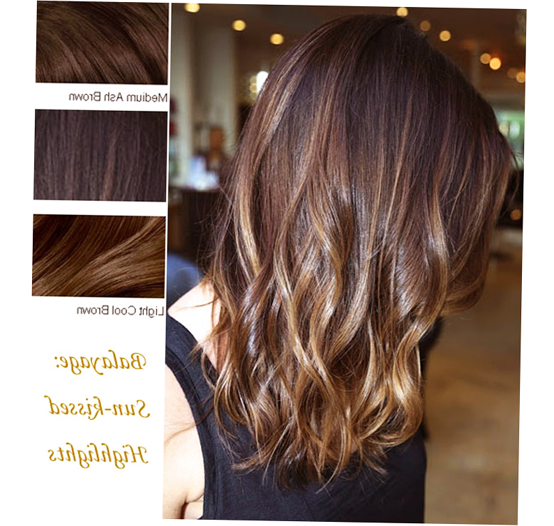 Balayage Highlights Short Hair Picture Photo
