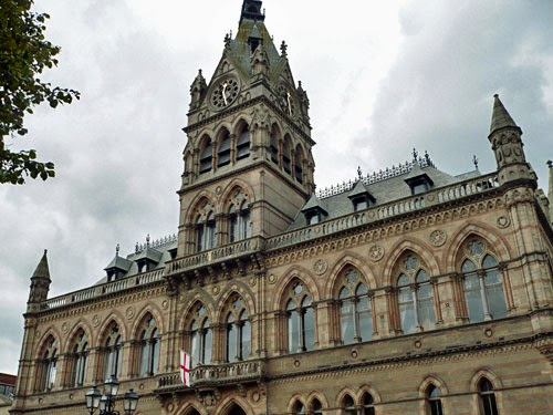 Chester Town Hall, Cheshire, UK.