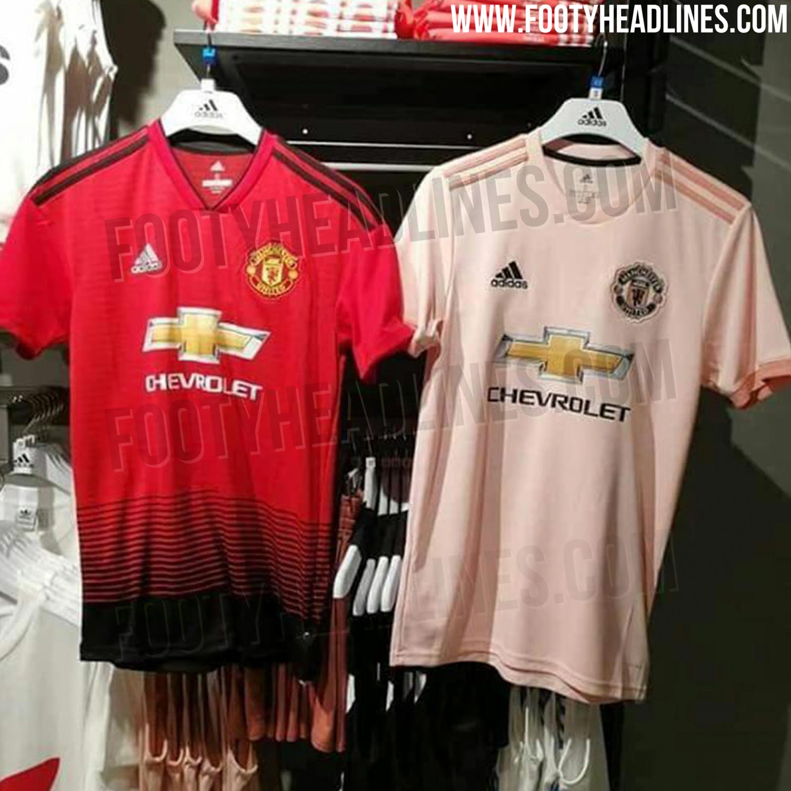 b0229564a The new Manchester United 18-19 away jersey will hit stores on September 18.