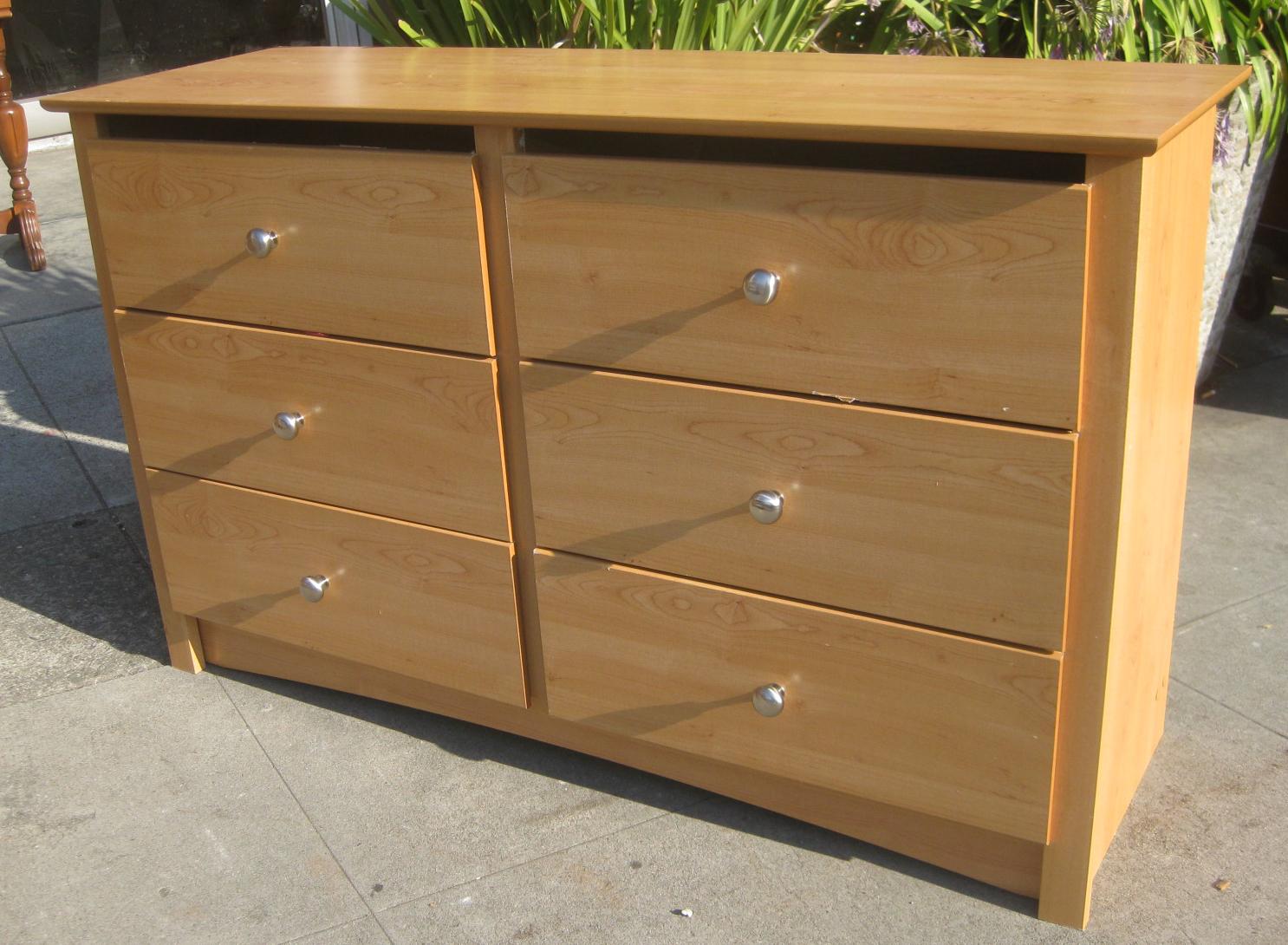 Sold Pressed Wood Dresser 25