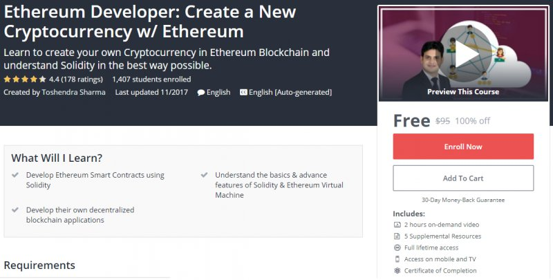 How to create a cryptocurrency on ethereum