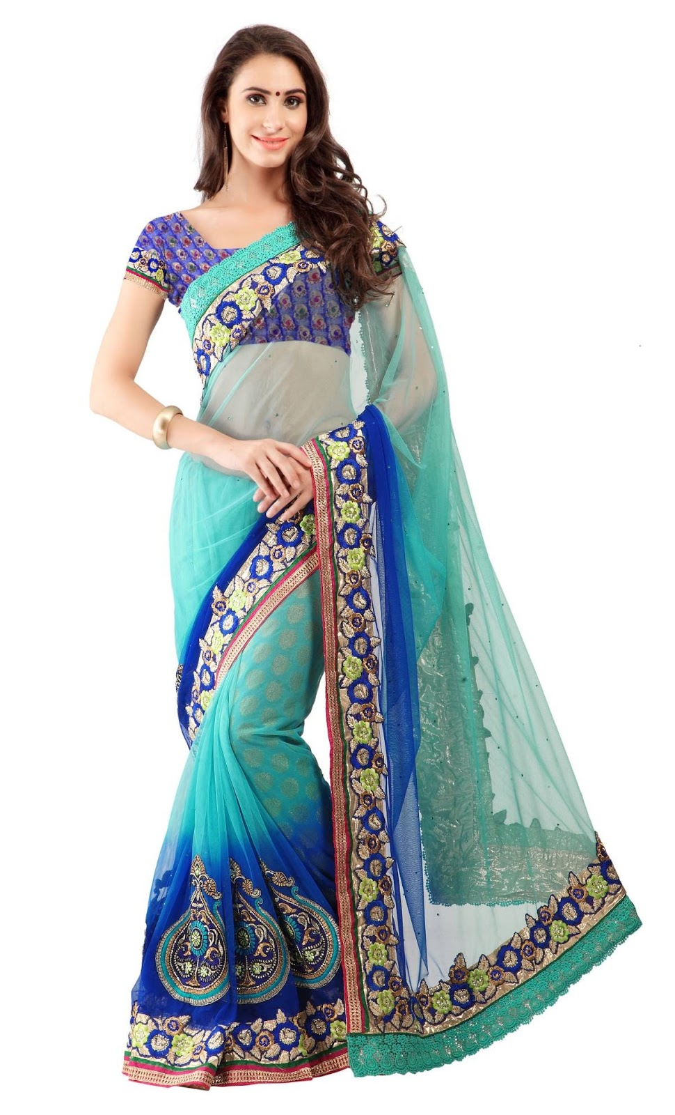 Glamour And Bloom – Outstanding Collection Of Festival Designer Saree