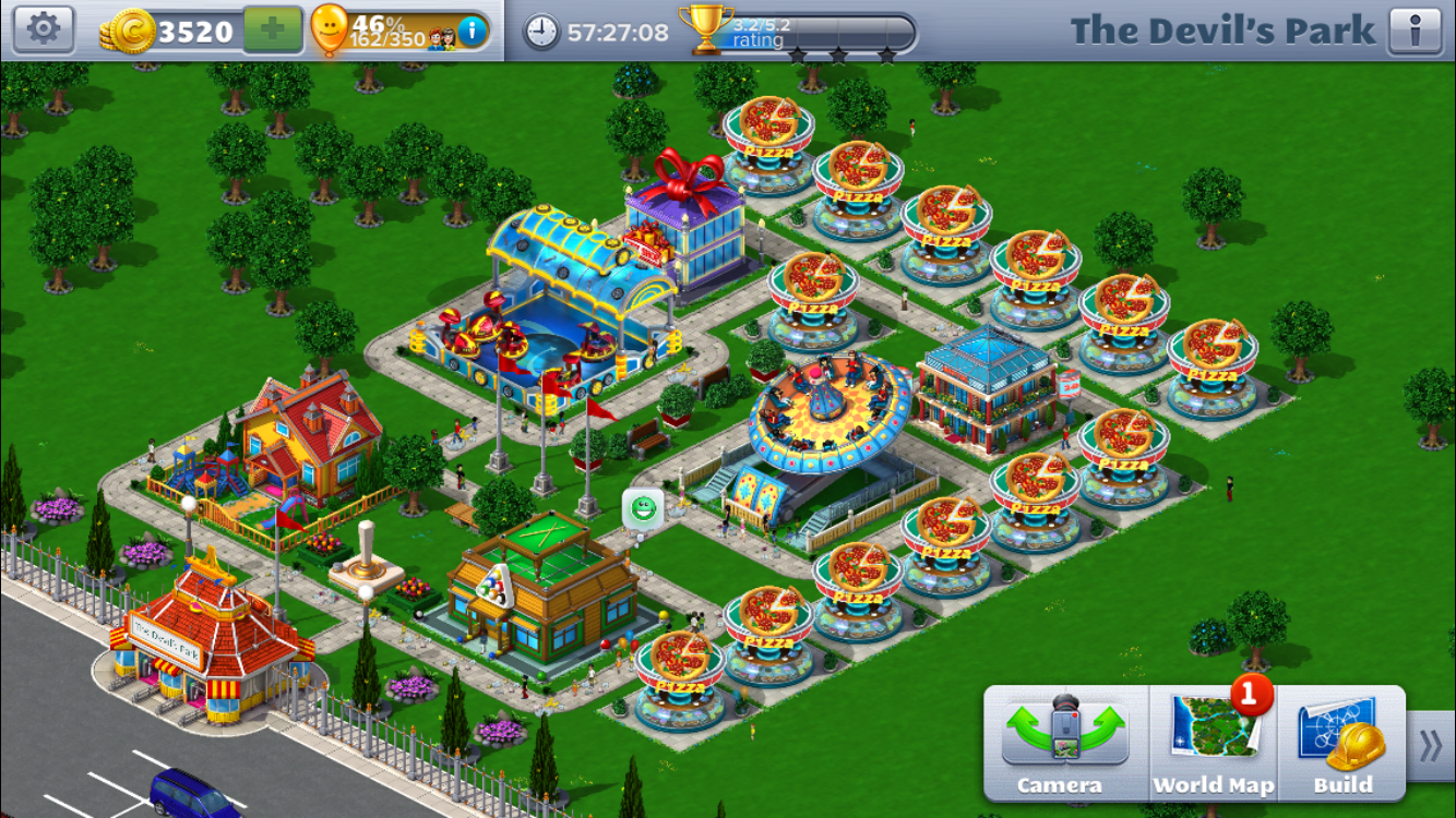 How to Beat Scenario 6 of Roller Coaster Tycoon 4 Mobile (RCT4M)